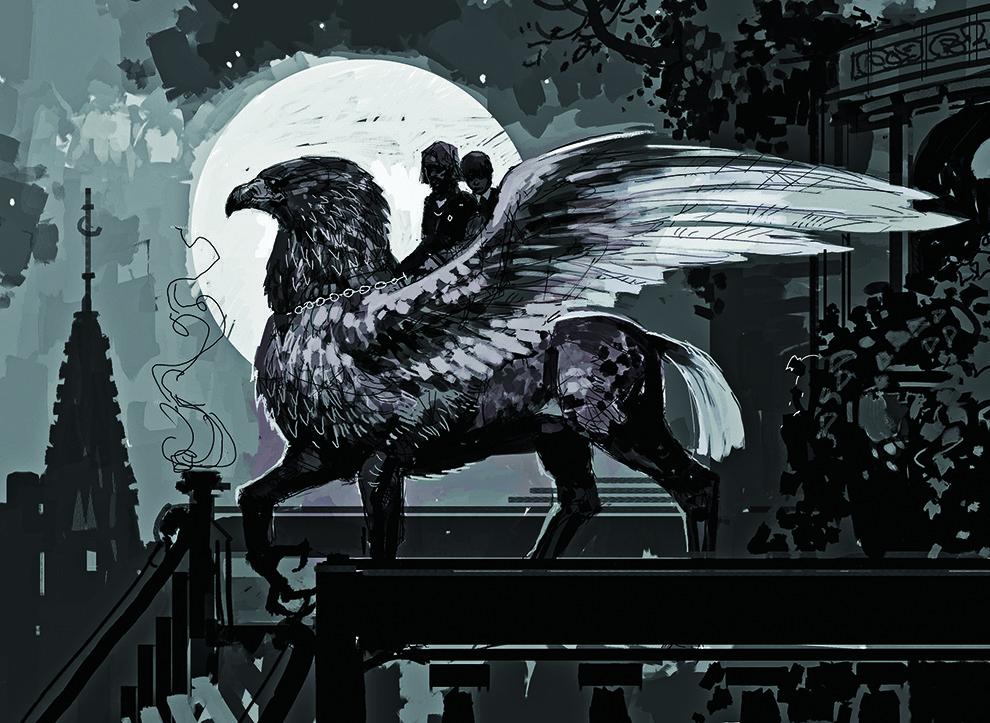 Buckbeak: Harry Potter Concept art, WB/Harper Collins
