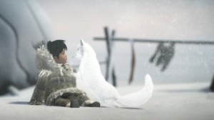 Never Alone image of Fran and fox