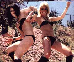 Joan Jett, Cherie Currie, The Runaways, 1977