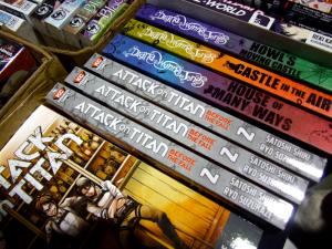Attack on Titan, Shingeki no Kyojin, volume 2, spine, Hajime Isayama, Kodansha