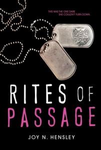 Rites of Passage Joy N. Hensley HarperCollins 2014