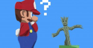 Super Mario Groot, Newgrounds, http://www.newgrounds.com/art/view/manenames/super-mario-groot