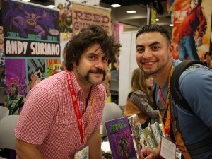 Andy Suriano and fan, Sonia.Harris, Andy Suriano is hysterical, FLickr