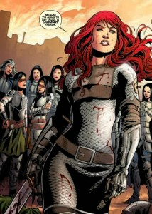 Red Sonja 1, Gail Simone and Walter Geovani, Dynamite, 2013