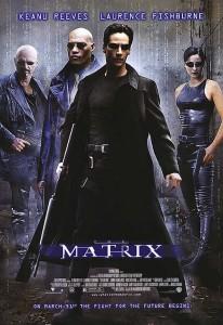 The Matrix. 1999. Directed by Andy Wachowski and Lana Wachowski. Movie Poster
