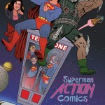 ACTION COMICS #40. Inspired by BILL & TED'S EXCELLENT ADVENTURE. Cover Art by Joe Quinones. DC Comics. Variant Cover