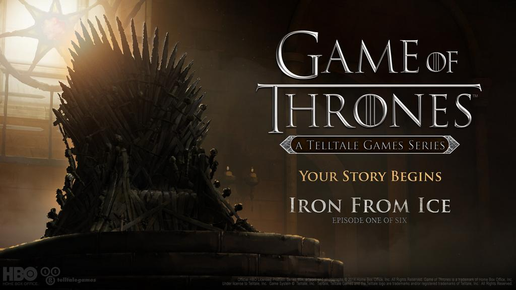 Game of Thrones Game Ep 1: Iron from Ice