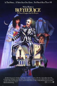 Beetlejuice. 1988. Directed by Tim Burton. Movie Poster.