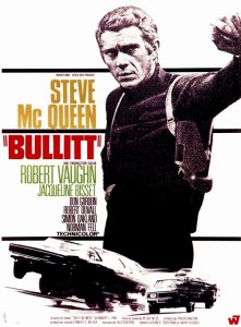 Bullitt. 1968. Directed by Peter Yates. Movie Posters