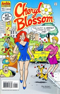 Cheryl Blossom: Get a Job, no. 1 of 3, written by Dan Parent, pencils by Dan DeCarlo & Dan Parent, Inks by Henry Scarpelli, Archie Comics, 1996