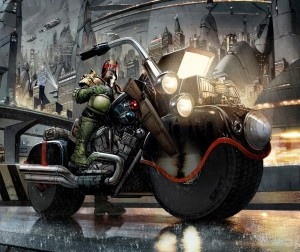 Judge Dredd Year One Greg Staples IDW Publishing