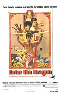 Enter The Dragon. Directed by Robert Clouse. 1973. Movie Poster.