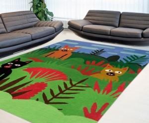 Culture Label + Jack Teagle, cat rug design, 2014