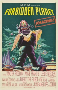 Forbidden Planet. Movie Posters. Directed by Fred M. Wilcox. 1956