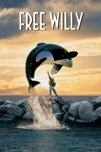 Free Willy. Directed by Simon Wincer. 1993. Movie Poster