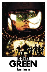 GREEN LANTERN CORPS #40. Inspired by FORBIDDEN PLANET. Cover Art by Tony Harris. DC Comics. Variant Cover