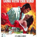 Gone With The Wind. Directed by Victor Fleming. 1939. Movie Poster