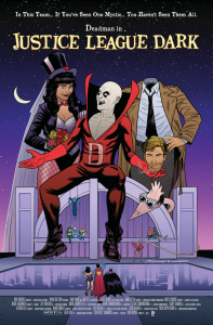 JUSTICE LEAGUE DARK #40. Inspired by BEETLEJUICE. Cover Art by Joe Quinones. DC Comics. Variant Covers.