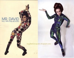 Lady Miss Kier 90s catsuits