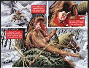 Red Sonja, Unchained #1, Peter V. Brett and Jack Jadsen, Dynamite 2013