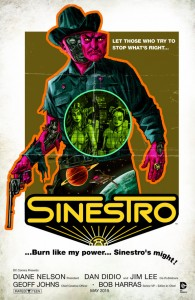 SINESTRO #11. Inspired by WESTWORLD. Cover Art by Dave Johnson. DC Comics. Variant Cover