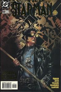 Starman #50 cover Tony Harris (artist), DC Comics 1999