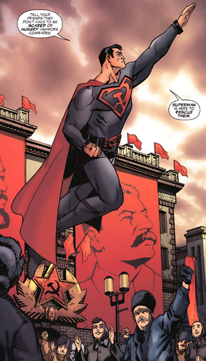 Superman_in_Red_Son