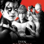 TEEN TITANS #8. Inspired by THE LOST BOYS. Cover Art by Alex Garner. Variant Cover. DC Comics