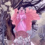The Witch Queen Cracked Her Whip, Stardust, Neil Gaiman and illustrated by Charles Vess