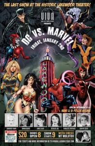 Viva Dallas Burlesque DC vs. Marvel