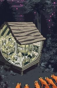 carolyn nowak, lumberjanes #9, kaBOOM studios, 2014