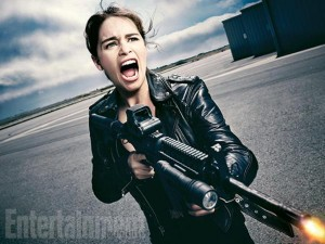 Emilia Clarke as Sarah Connor in Terminator Genisys | Entertainment Weekly
