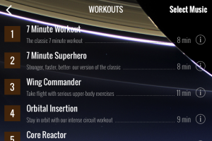 7-minute Supehero Workout, Six by Six, 2014