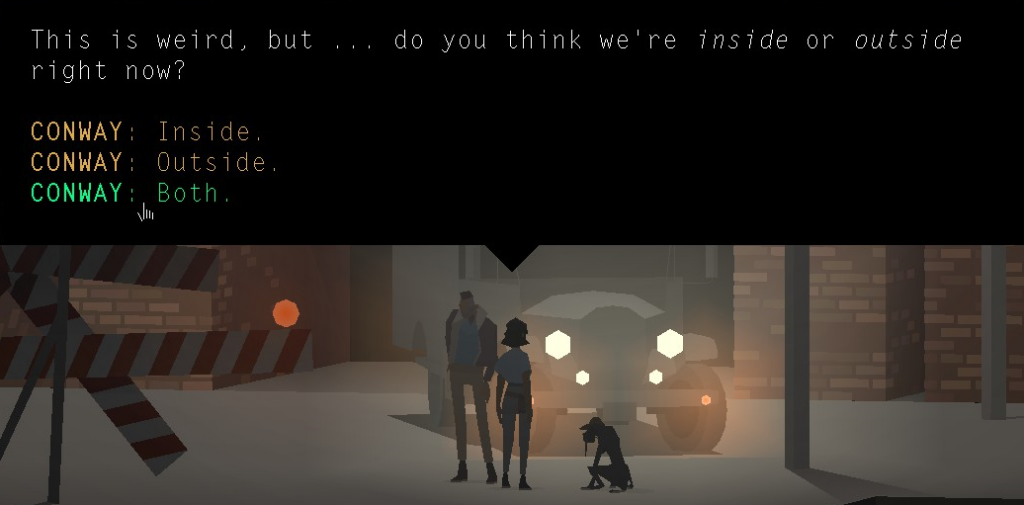 Kentucky Route Zero Screenshot by Julian Low