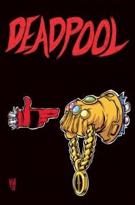 Deadpool #45 cover. A: Skottie Young. Marvel Comics 2015.