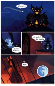 Cucumber Quest comic