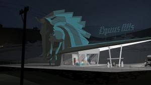 Kentucky Route Zero Screenshot by Julian Low