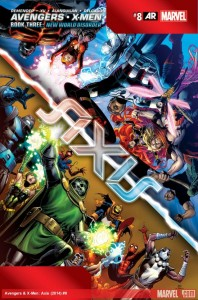 AVENGERS AND X-MEN AXIS 7