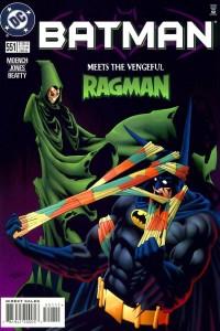Batman #551 [1998] Ragman - Doug Moench/ Kelley Jones - DC Comics