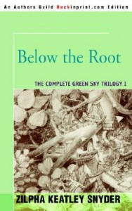 Below the Root republished by Backinprint (2005) \| http://www.zksnyder.com/