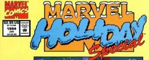 Christmas banner Marvel