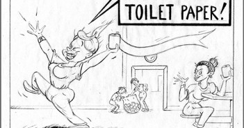 Elana Pritchard Jail Comics Toilet Paper