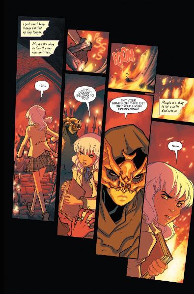 Issue #2. Gotham Academy. Written Becky Cloonan and Brenden Fletcher. Art by Karl Kerschl. DC Comics. November 2014.