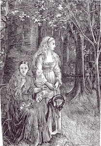 Michael Fitzgerald, Funeral, Illustration for Carmilla, 1872
