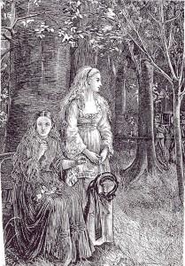 Michael Fitzgerald, Funeral, Illustration for Carmilla, 1872