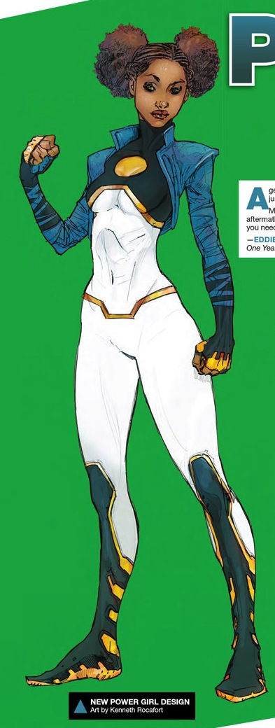 Power Girl Tanya Spears, DC Comics, Kenneth Rocafort, 2015