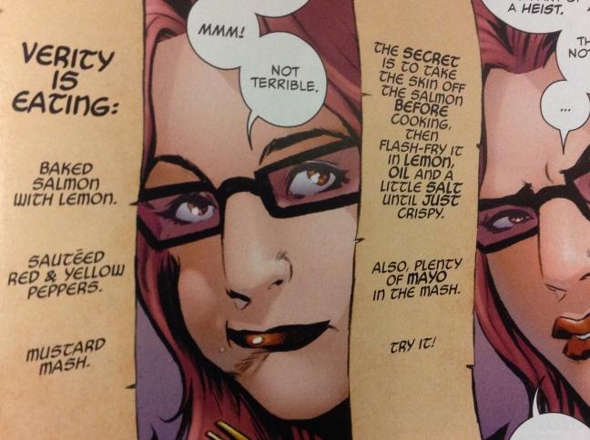 Panels from Loki Agent of Asgard #4, Al Ewing (writer), Lee Garbett (artist), Nolan Woodard (colorist), Marvel Comics, 2014.