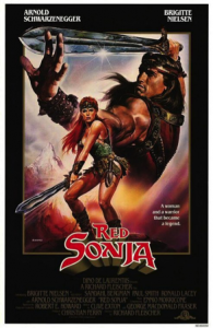 Red Sonja, 1985, Movie Poster 2