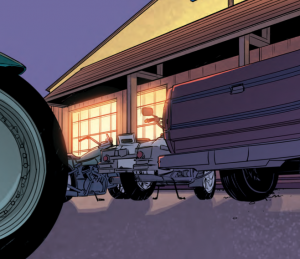 Sherwood, TX, issue one, WRITTEN BY SHANE BERRYHILL PENCILS BY DANIEL HILLYARD INKS BY DANIEL HILLYARD COLORS BY CHARLIE KIRCHOFF LETTERS BY ED DUKESHIRE COVER BY ANDREW ROBINSON