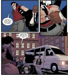 backgrounds, Sherwood, TX, WRITTEN BY SHANE BERRYHILL PENCILS BY DANIEL HILLYARD INKS BY DANIEL HILLYARD COLORS BY CHARLIE KIRCHOFF LETTERS BY ED DUKESHIRE COVER BY ANDREW ROBINSON